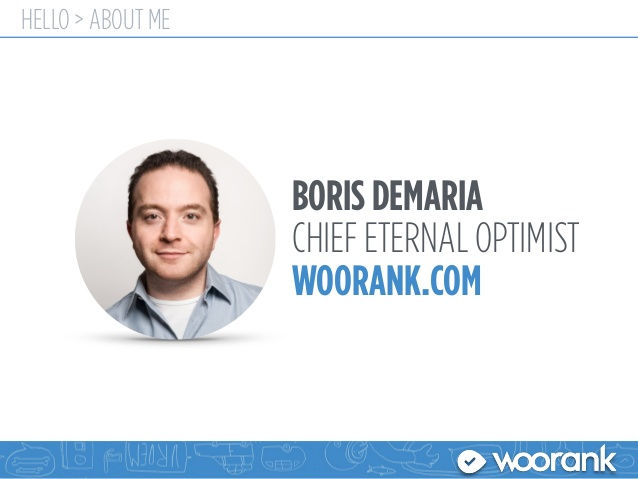 بوریس دماریا موسس سایت Woorank