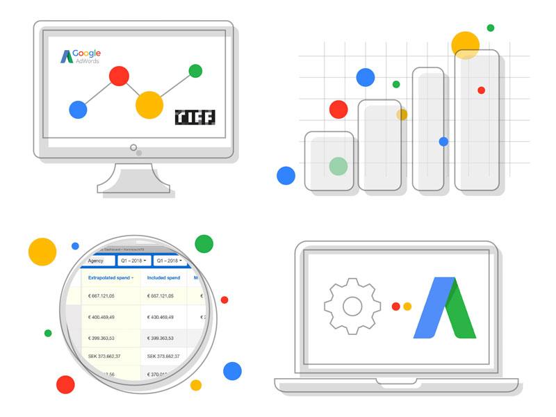ویژگی های تبلیغات گوگل