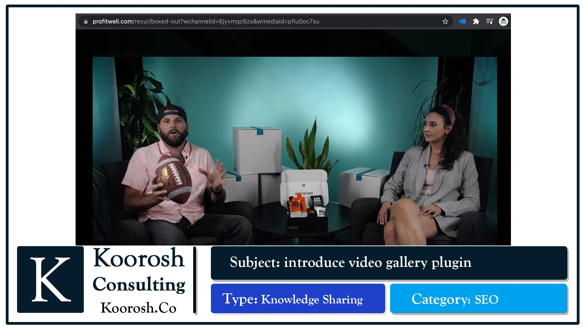 ویدیوهایی در یک URL، و اضافه شدن عبارات جستجو برای هر ویدیو